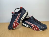 Puma Buty Jago Ripstop Mens Trainers Navy Blue Red Trainers Size UK 7.5 EUR 41