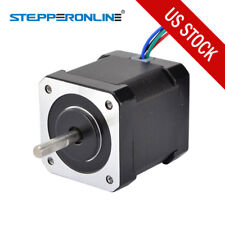 US Ship Nema 17 Stepper Motor 84oz.in(59Ncm) 2A 4 Wires w/ 1m Cable & Connector