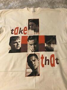 Official Take That 1994 Tour T Shirt (XL)