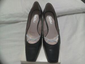 Navy White Court Shoes | eBay