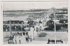 Lancashire postcard - The Floral Bridge, Southport - P/U 1951