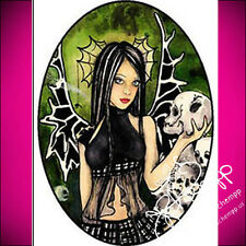 NAIL ART DECAL STICKERS WATER SLIDE TRANSFER FULL GOTHIC Oval Draetha  Schempp