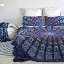 Stylish Mandala Bedding set Indian Cotton Tapestry Wall Hanging King Bedspread