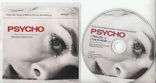BERNARD HERRMANN Psycho - Prelude/The Murder UK Stylotone 2-track promo only CD