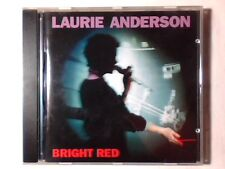 LAURIE ANDERSON Bright red cd LOU REED BRIAN ENO MARC RIBOT COME NUOVO LIKE NEW