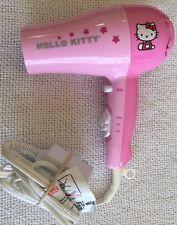 Hello Kitty Blowdryer Hair Dryer Pink Excellent