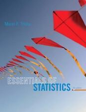 Essentials of Statistics by Mario F. Triola (2013, Paperback, 5th Edition)