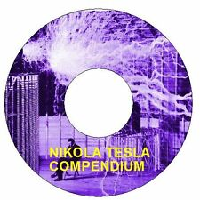 Nikola Tesla Collection on 1 DVD Tesla Coil Free Energy Experiments Inventions