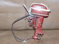 VINTAGE JOHNSON ELECTRIC SEA HORSE 35 TOY OUTBOARD BOAT MOTOR MADE IN JAPAN