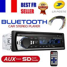 1DIN Voiture Autoradio Stéréo Bluetooth Car MP3 Player Radio SD USB AUX-IN TF