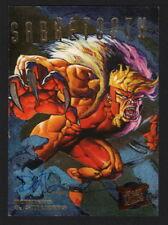 Dave DeVries SIGNED 1995 Fleer Ultra X-Men Art Card SABRETOOTH Hunters Stalkers