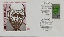 "BRD FDC MiNr 973 (6) ""100. Geburtstag von Dr. Janusz Korczak"" -Arzt-Medizin-"