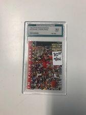 1993 Upper Deck #33 Michael Jordan (Face) 9.0 Mint Condition Basketball Card