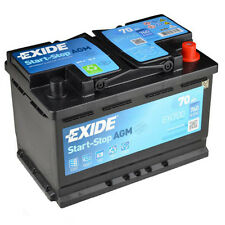 Exide EK700 Start | Stop AGM VRLA Autobatterie 70Ah