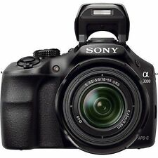 Sony A3000 20.1mp Camera Combo ILCE-3000K E-18-55mm zoom lens 1080p HD Video New