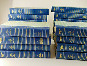 THE ANNALS OF AMERICA Lot Encyclopedia Britannica- Books I & II and volumes 1-18