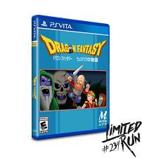Limited Run #234 Dragon Fantasy PSV Playstation Vita Region Free Ships in 24 HRS