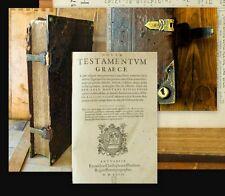 1572 Biblia polyglotta Hebraica Graeca Greek Hebrew polyglotte Bible Plantin 5in1