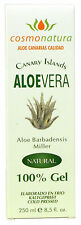 PURES ALOE VERA GEL 100 % 250ml Cosmonatura