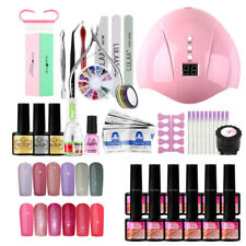 Nail Polish Starter Kit 36W UV Light Lamp Gel Polish Set Manicure Nails Art Tool