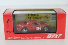 "BEST MODEL 1/43 FERRARI 250 LM ""NURBURGRING 1964"" °9009"
