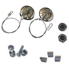 Ford Maverick Set Billet Lock - Knobs - Panel -