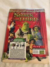 Shrek the Third (Dvd, 2007, Target Exclusive) w/ Now Shrek Cd