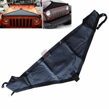 New T-Style Hood Cover Front End Bra Protector Mask for 2007-15 Jeep Wrangler