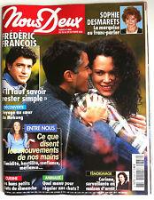Photoromans NOUS DEUX 22/10/2002; Interview Frédéric François/ Gwyneth Paltrow