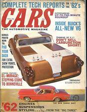Cars Magazine November 1961 Trendero Dodge Dart VG No ML 032217nonjhe