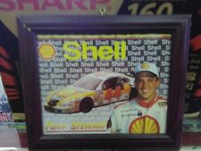 Framed Tony Stewart #44 Shell Car NASCAR Print