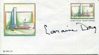 Laraine Day Foreign Correspondent The High and the Mighty Signed Autograph FDC