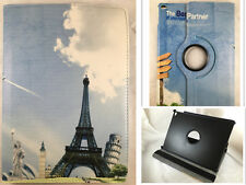 FUNDA CARCASA TABLET IPAD AIR 2 IPAD 6 GIRATORIA 360º DIBUJO PARIS