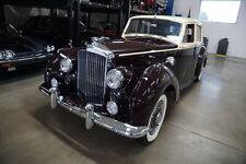 New Listing1953 Bentley R-Type 4 1/2 Litre Big Bore Lhd Saloon
