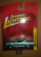 Johnny Lightning 1965 Blue Chevy Chevelle Ss Car 2011 Editions - Scale /64