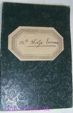 LIVRET DE TRAVAIL D'ENFANT DANS L'INDUSTRIE 1907 - ARDECHE
