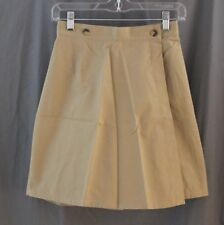 Land's End Junior, Size 5, Khaki Chino Skort, New without Tags