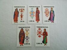 1999 Turkmenistan National Costumes m/m Mi.68/72. G8