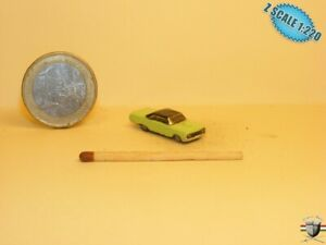 Ford Galaxie   Z scale 1/220 Hand-painted Metal Model