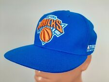 New York Knicks TISSOT Snapback Cap One Size Fits All Blue Embroidered NBA Hat