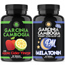 Garcinia Cambogia w. Apple Cider Vinegar and Garcinia PM Sleep Weight Loss Duo