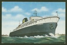 S.S.Spartan - Queen of the Great Lakes - Postcard by E.C. Kropp Co.Milwaukee Wis