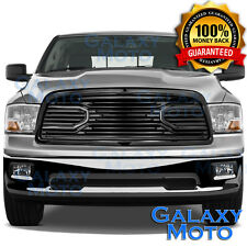 09-12 Dodge RAM Truck 1500 Front Hood Big Horn Black Replacement Grille+Shell
