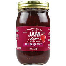 The Jam Shoppe All Natural Red Raspberry Jam 19 Oz Handcrafted Real Fruit Recipe
