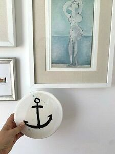Jai Vasicek Ahoy Trader Limited Edition Anchor Tile Artwork