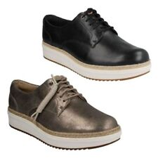 Lace-Ups Regular Size Suede Flats for Women