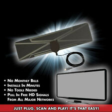 EG_ HD Free TV Digital Antenna Copper Foil HDTV Signaling Receiver Indoor Raptur