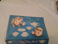 VINTAGE TOY TEA SET IN ORIGINAL BOX