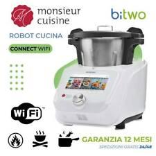 Monsieur Cuisine Connect WIFI robot cucina automatico scalda trita vapore