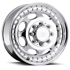 19.5X6.75 Vision 181 Hauler Dually 8x170 ET102 Chrome Rims (Set of 4)